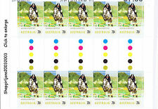 2014 - Australia - Equestrian Events - Show Jumping - gutter strip of 10 - MNH