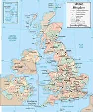 UK UNITED KINGDOM GB POSTER WALL BRAND NEW Sizes  A0 A1 A2 A3 A4 Free Postage