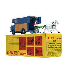 Dinky Toys Atlas 571 Blue Transport Saviem 1:43 Sacel Diecast Alloy Car Model