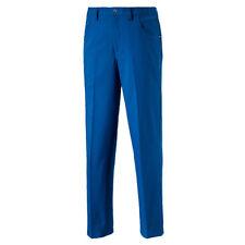 NEW 2018 PUMA 6 POCKET GOLF PANTS LAPIS BLUE 36/32