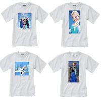 Frozen T Shirt, Personalised Frozen T Shirt,  Cast Elsa Anna Olaf T Shirt
