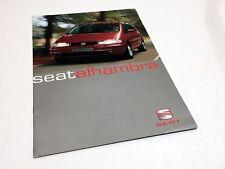 1999 Seat Alhambra Brochure
