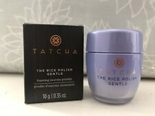 TATCHA ~ The RICE POLISH GENTLE ~ Foaming Enzyme Powder for Dry Skin ~ 10g ~ New
