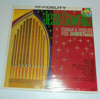 SEALED Jesse Crawford Organ and Chimes for Christmas LP vinyl holiday music mono