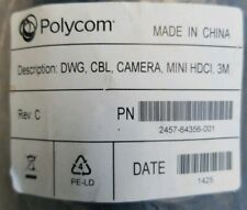 Polycom PN: 2457-64356-001 DWG, CAMERA,  MINI HDCI, 3M
