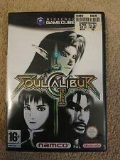 Soul CALIBUR II 2 Nintendo Gamecube Gioco Cube collegamento da Zelda ottime condizioni