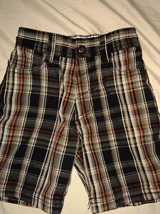 Billabong boys sz. 2T plaid surf style shorts. Great pair