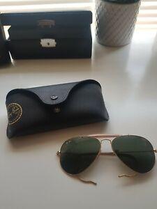 Ray Ban Outdoorsman Sunglasses RB3407 001/3K