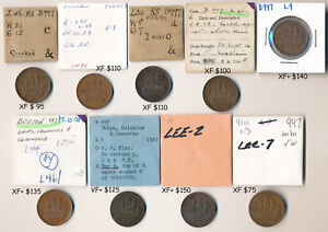 9 PEI CANADA TOKENS (FROM OLD NICE QUALITY COLLECTION) CV $1,000+ USD > NO RSRV