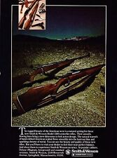 1979 Smith & Wesson Model 1500 Deluxe Magnum and Standard Rifle Ad