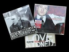 JUSTIN TIMBERLAKE  3cd SINGOLI - LOVE STONED -WHAT COMES AROUND -ROCK YOUR BODY