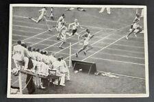 Jesse Owens 1936 Olympics 100m  - Mint - German Sammelwerk