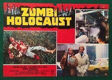 FOTOBUSTA ORIGINALE  ZOMBI HOLOCAUST GIROLAMI CULLOCH  HORROR 1980 SPLATTER RARA