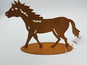 Rustic Style Standing Horse Decoration Metal Horse Lovers Gift Unique