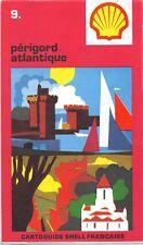 Karte Straßen- sammler Cartoguide -muschel Französische -Perigord atlantique Nr.