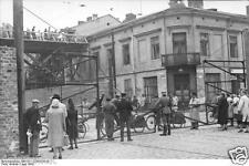 Warsaw Ghetto Civilians & Guards 1942 World War 2 Reprint Photo 6x4 Inch