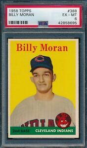 1958 Topps Set Break # 388 Billy Moran PSA 6 *OBGcards*