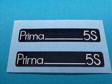 Hercules Prima 5S Trittbrett Aufkleber Dekor Schriftzug Verkleidung Sticker
