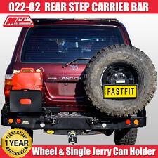 MCC4x4 Wheel Carrier & Jerry Can Holder Rear Step Bar Toyota Land Cruiser 105