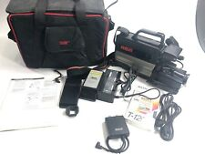 Rca CamCorder Model Cc 250 With Battery, Charger, Accessories & Carry Case As Is