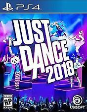 PS4 Just Dance 2018 NEW Sealed
