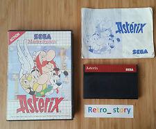 SEGA Master System Astérix PAL