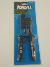 Telemaster Crimp Tool Ideal Industries 30-496 NEW Crimps and Strips Phone Cable