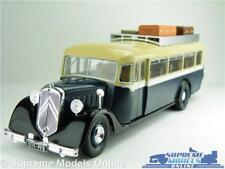 CITROEN T45 BUS MODEL FRANCE 1934 1:43 SIZE IXO HACHETTE PARIS BLUE/CREAM T34Z
