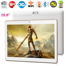 10.1'' Tableta Android 5.1 QuadCore 16GB WiFi 3G Teléfono Dual SIM OTG Tablet PC