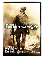 *FREE SHIPPING* Call of Duty Modern Warfare 2 PC Game 2009 Activision Complete!