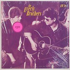 THE EVERLY BROTHERS: EB '84 Shrink MERCURY Vinyl LP Paul McCartney