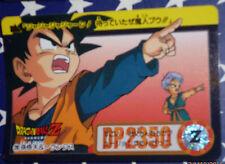 DRAGON BALL Z GT DBZ HONDAN PART 22  CARDDASS DP CARD CARTE 226 JAPAN 1995  NM