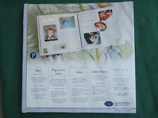 Creative Memories - 12 x 12 BABY REFILL PAGES original size 15 sheets - NIP
