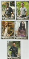 2018 TOPPS AMC WALKING DEAD ROAD TO ALEXANDRIA LOT OF 20 CHARACTER INSERT CARDS