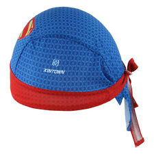 Superman Cycling Bicycle Bike Outdoor Sports Bandana Pirate Hat Cap Headscarf