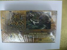 Lord of the Rings TCG 'Topps Trilogy Chrome' sealed box trading cards