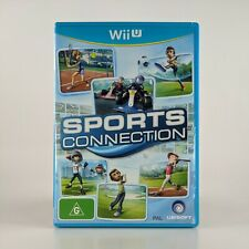 Sports Connection Nintendo Wii U Game, 2012 PAL - FREE POST