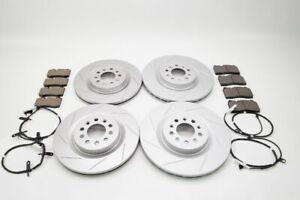 Aston Martin Db9 V8 Vantage front rear brake pads rotors 805