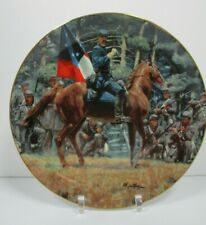 Jackson and Lee: Legends in Gray There Stands Jackson Mort Kunstler Plate W/Bx