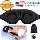 3D Sleeping Eye Mask for Men Women Soft Pad Blindfold Cover Travel Sleep Set <br/> ✅#1 BEST SELLER✅3 PC SET  ✅EXPEDITED SHIPPING