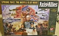 Axis & Allies Spring 1942 The World Is At War WWII Strategy Game 12+ Avalon Hill