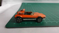 Vintage Corgi Juniors Whizzwheels Bertone Runabout Barchetta Orange Toy Car