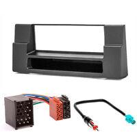 CARAV 11-012-3-67 Autoradio DIN Radioblende für BMW 5er E39 X5 E53 DIN schwarz