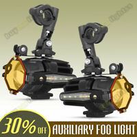 For BMW F800GS R1200GS Motorcycle LED Auxiliary Light Fog Driving Spot Work Lamp