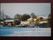 POSTCARD B6 BUCKINGHAMSHIRE SNOW ON DOWNLEY COMMON NEAR HIGH WYCOMBE