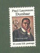 1554 Paul Dunbar Us Single Mint/nh Free Shipping