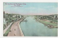 USA, The Speedway & Washington Bridge, New York Postcard, A805