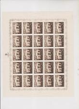 CROATIA,WW II,POMOC proof sheet set,no gum