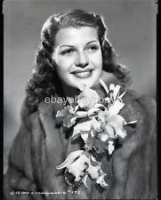 RITA HAYWORTH Portrait 1940s Original Camera NEGATIVE 763C