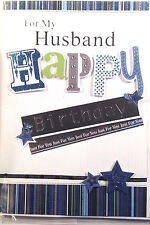 For my HUSBAND Happy Birthday 3D Greetings Card ~ Free Delivery (269)